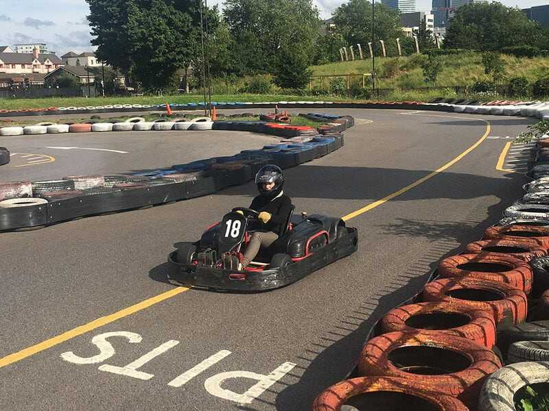 Go-karting in Mile End Park